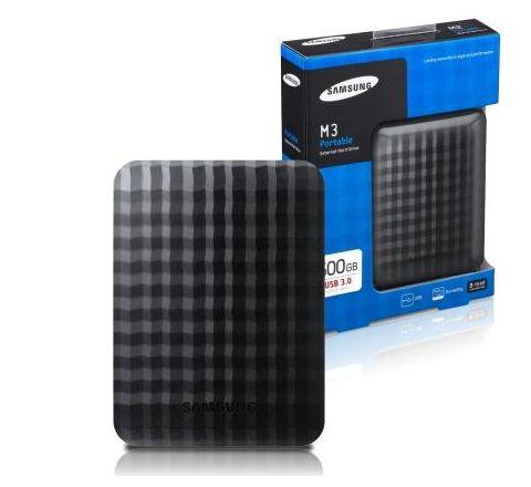 Samsung M3 Portable 500GB/1TB/2TB 2.5-Inch External Hard Drive