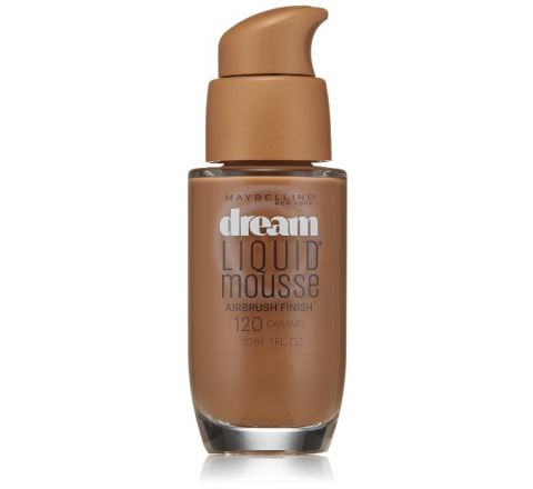 Maybelline New York Dream Liquid Mousse Foundation 120, Caramel Dark 2, 1 Fluid Ounce
