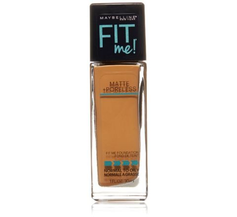 Maybelline New York Fit Me! Foundation, 335 Classic Tan, 1.0 Fluid Ounce