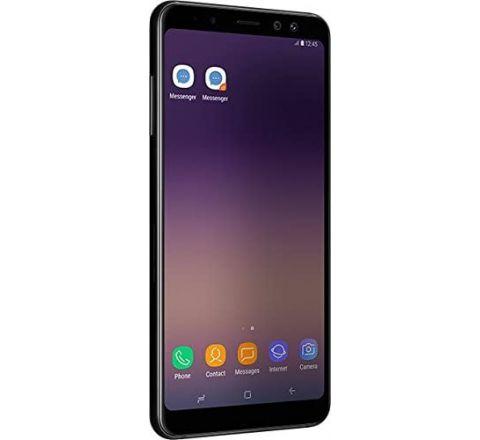 "Samsung Galaxy A8 (2018) Factory Unlocked SM-A530F 32GB 4GB Ram, 5.6"" Screen, 16MP Rear Camera + Dual Frontal Camera 16MP+8MP, IP68, 4G LTE International Version  (Black)"