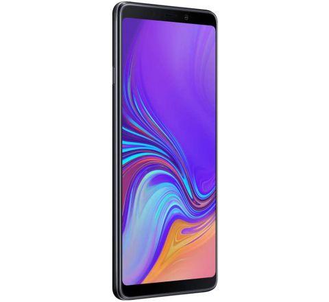 Samsung Galaxy A9 2018 Black, (SM-A920F/DS) 6GB / 128GB 6.3-inches LTE Single SIM Factory Unlocked - International  (Caviar Black)