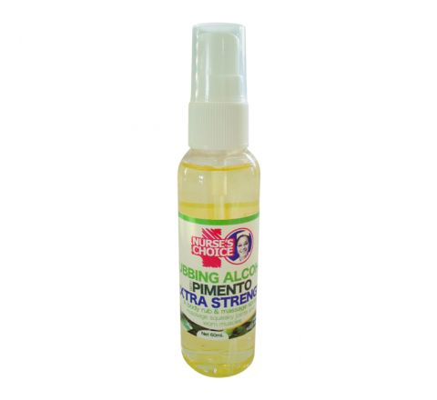 Nurses Choice Alcohol with Pimento Massage Spray - Extra Strength, 60ml