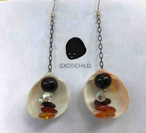 In-Shell-ter Earring Collection by EXOTICHILD-ES12
