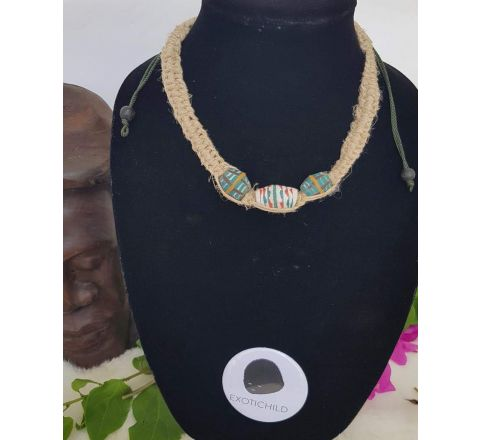 EXOTICHILD Adjustable Hemp Necklace NEC50