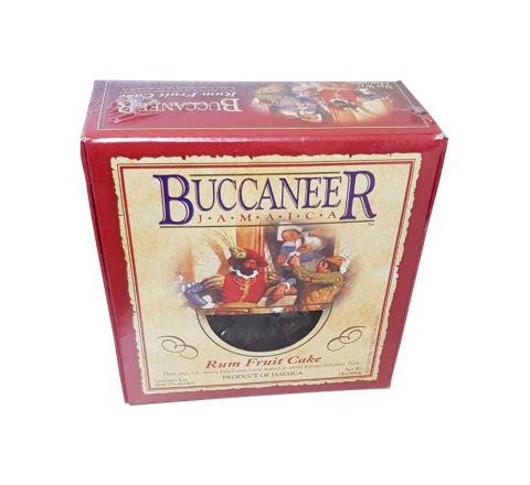 Buccaneer Rum Cake - Fruit, 24 oz box