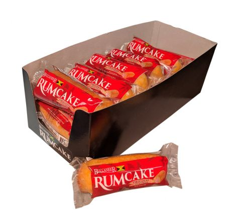 Buccaneer Pocket Size Rum Cake (10 Pack)-Original Rum with Cream