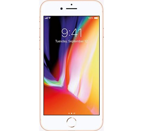 "Apple iPhone 8 4.7"", 64 GB, Fully Unlocked, Silver"