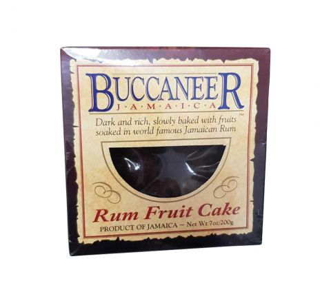 Buccaneer Rum Cake - Fruit, 7 oz box