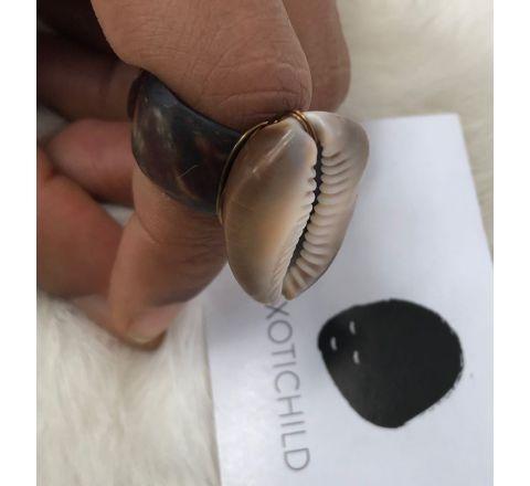 Exotichild Natural Shells Ring RTS16
