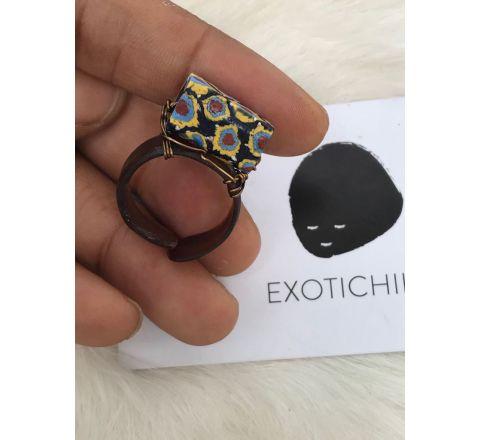 Exotichild Natural shell & Bead Ring RTS22