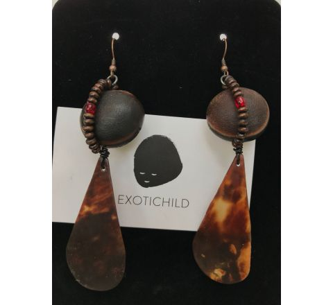 Exotichild Natural Shell Earring ETS1
