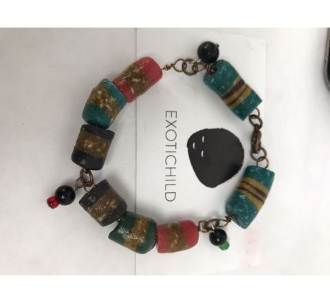 Exotichild Colors of Pride Bracelet Small, BLK1