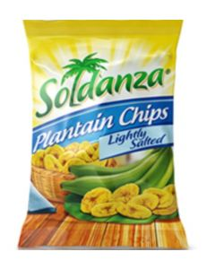 SOLDANZA Ripe Plantain Chips Lightly Salted