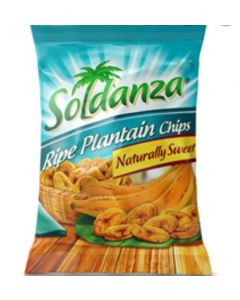 SOLDANZA Ripe Plantain Chips Naturally  Sweet