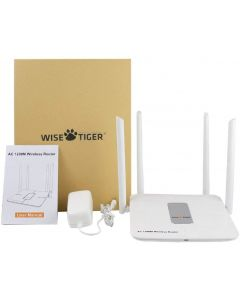Wise Tiger K2 Wireless Router 1200mbps Long Range Wifi High Speed Dual b/Router