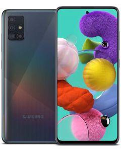 Samsung Galaxy A51 Factory Unlocked Cell Phone   128GB of Storage   Long Lasting Battery   Single SIM   GSM or CDMA