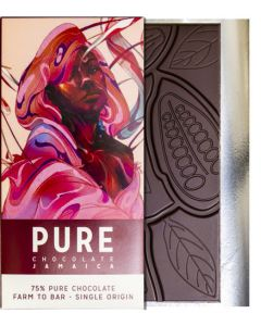 PURE 75% dark chocolate 3.5oz / 100 grams each