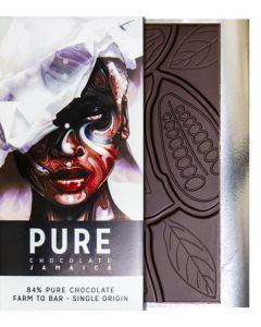 PURE 84% dark chocolate 3.5oz / 100 grams each