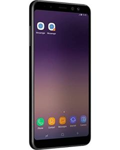 "Samsung Galaxy A8 (2018) Factory Unlocked SM-A530F 32GB 4GB Ram, 5.6"" Screen, 16MP Rear Camera + Dual Frontal Camera 16MP+8MP, IP68, 4G LTE International Version  (Black)"