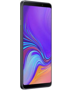 Samsung Galaxy A9 2018 Black, (SM-A920F/DS) 6GB / 128GB 6.3-inches LTE Single SIM Factory Unlocked - International  (Caviar Black)