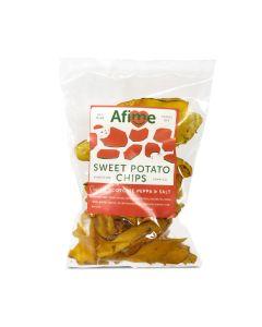 Afime Snacks - Sweet Potato Chips- Simo's Scotchie Peppa and Salt