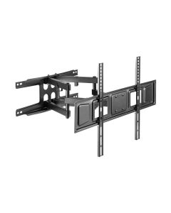 "ARGOM TV WALL MOUNT 37"" - 80"" FULL MOTION DOUBLE ARM 600 X 400"