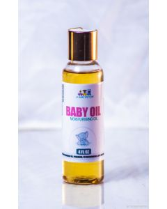 JBF Baby Oil, 4 fl oz