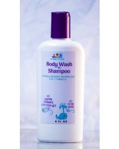 JBF Body wash and Shampoo, 8 fl oz