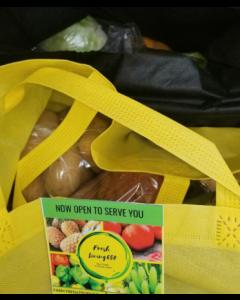 Belly Full Box- Family Edition (Yam, Potato, Banana, Plantain, Carrot Veggies, Tomato, Pepper)