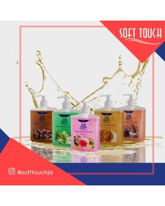 Soft Touch Liquid Hand Soap (500ml/CASE OF 12)