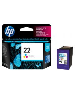 HP 22 Coloured Ink