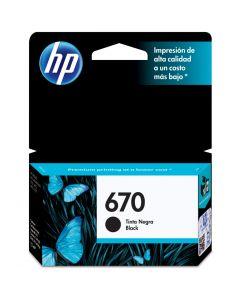 HP #670 Black