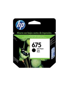 HP #675 Black