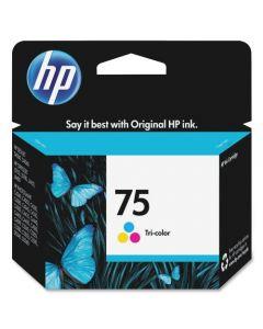 HP#75 coloured Ink Cartridge