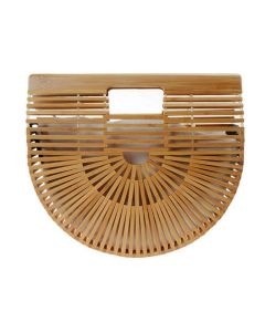 Bamboo Handbags -BROWN