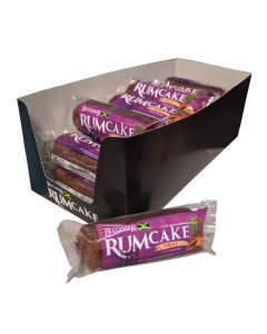 Buccaneer Pocket Size Rum Cake (10 Pack)-Fruit