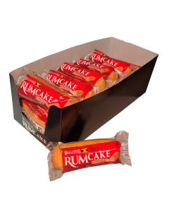 Buccaneer Pocket Size Rum Cake (10 Pack)-Original Rum NO Cream