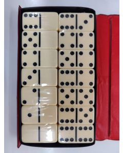 Double Six Dominoes Club Size