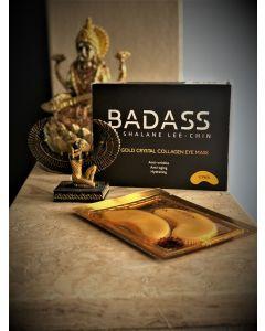 Badass by Shalane Lee Chin 24K gold crystal collagen eye mask