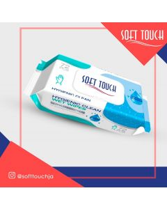 Soft Touch Antibacterial Wipes