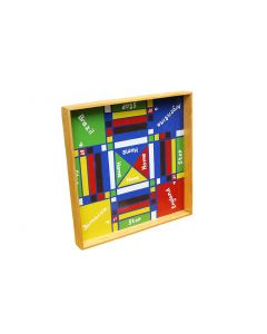 Jamaican Ludo Board + Checkers | 24'' * 24'' Double Sided Game Board | Family Game Night