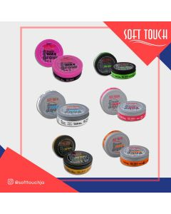 Assorted Soft Touch hair wax  (CASE of 60)