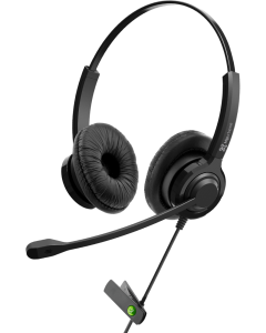 KlipXtreme HEADSET VoxPro-S KCH-911 with Noise Cancelling Mic