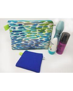 Caerulean Makeup Bag Set, Large