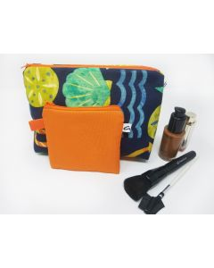 Ocean Theme Makeup Bag Set, Medium