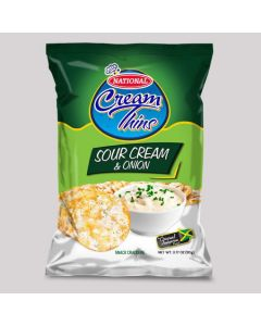 National Thins Sour Cream & Onion (Pack of 3) 90g