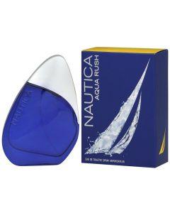 Nautica Aqua Rush Eau De Toilette Spray for Men 3.4oz