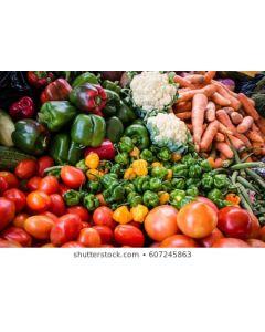 Belly-Full Box (Cabbage, Yam, Green Banana, Callaloo, Scallion & Thyme etc)