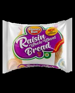 Honey Bun Raisin Bread Whole Wheat
