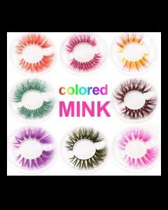 5D Colored Mink Eyelashes